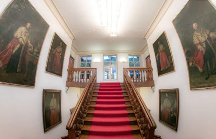 Een beeld van het interieur van Alden Biesen.