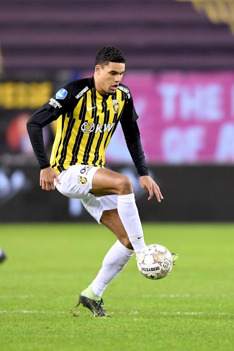 Danilho Doekhi: 'Ik voelde me meteen thuis bij Vitesse'. Beeld Pro Shots / Paul Meima