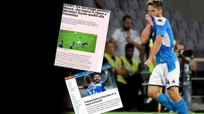 """Kritiek voor Mertens en vooral de VAR na knotsgekke Fiorentina-Napoli: """"Puinhoop had vermeden kunnen worden"""""""