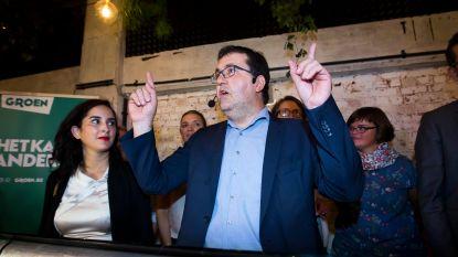 Van Besien voert al oppositie op nieuwjaarsreceptie