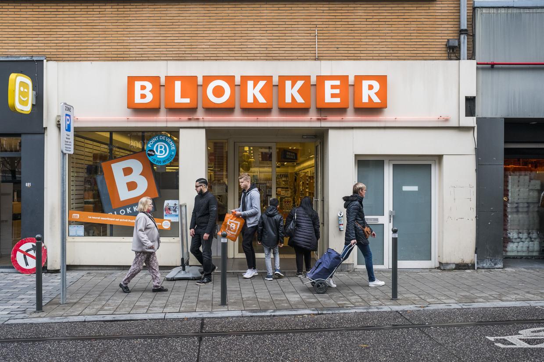 Het doek is gevallen voor Blokker, maar de vraag blijft of de winkels straks opnieuw opengaan als de aangekondigde Mega World. Beeld tim dirven