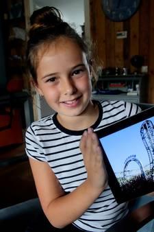 Oud-Beijerlandse Izzy (10) krijgt 'droombaan' als achtbaantester