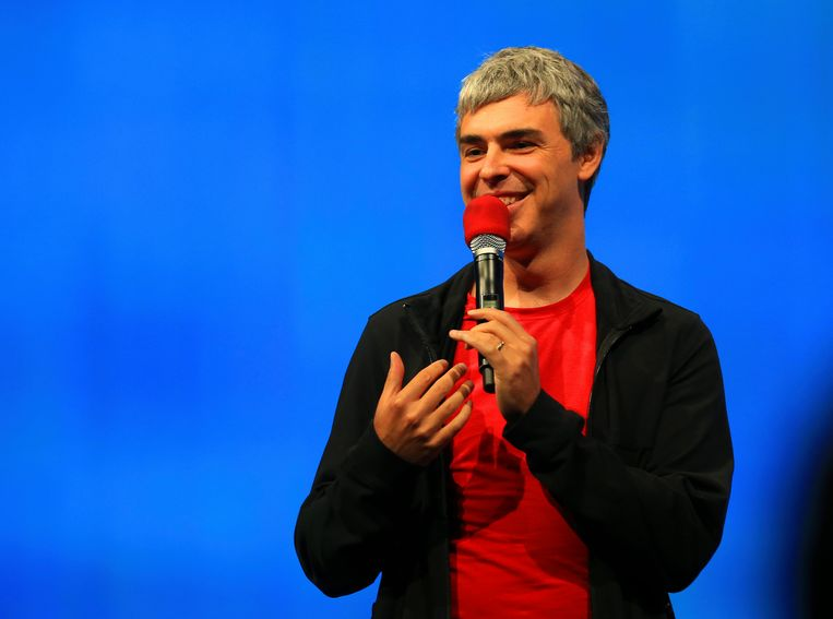 Larry Page, the chief executive of Google's parent Alphabet. Beeld NYT