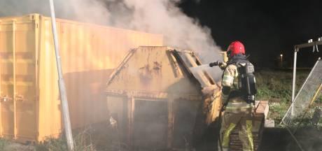 Tiende brand op Urk binnen een maand