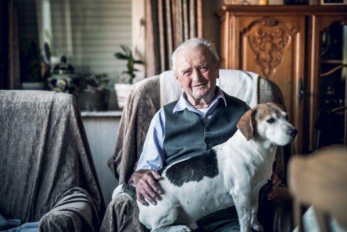 Louis Boeckmans werd 98 jaar.