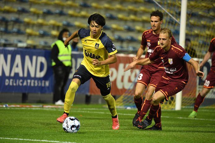 Kaoru Mitoma opende de score voor de thuisploeg.
