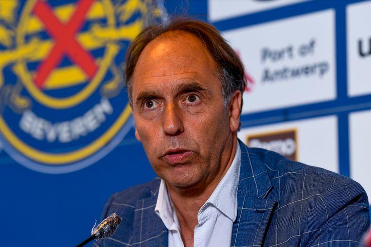 Dirk Huyck, voorzitter van Waasland-Beveren.