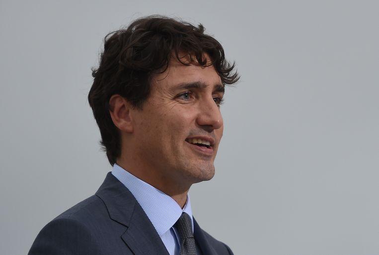 Canadees premier Justin Trudeau. Beeld AFP