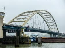 Merwedebrug bij Papendrecht morgen deels afgesloten