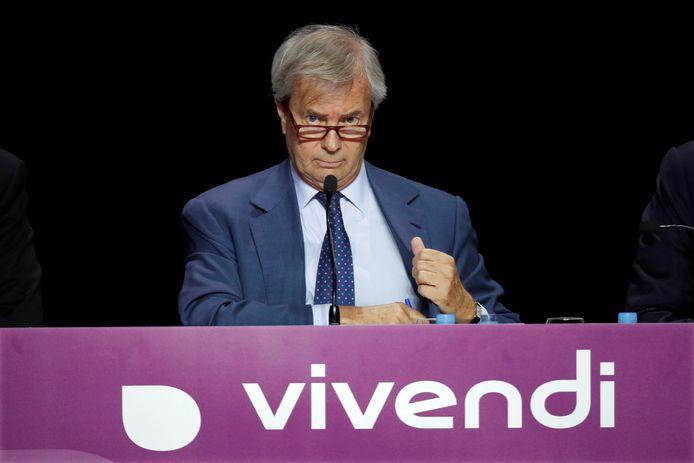 Vincent Bolloré, PDG de Vivendi