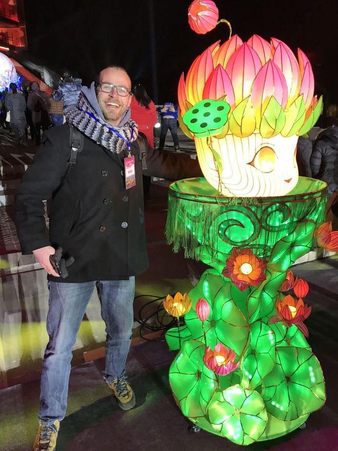 Gijs van Bon in Nanjing