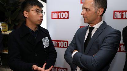 China boos over ontmoeting van Duitse minister met boegbeeld van protest in Hongkong