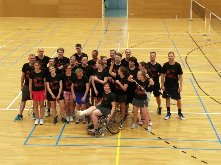 Het Batminmaratonteam gaat opnieuw 44 uur spelen voor goeie doel in Wetteren