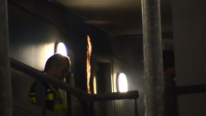 Dennis Bakker, brand Enschede