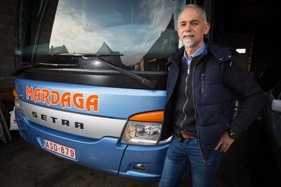 Buschauffeur Johan Mardaga (56).