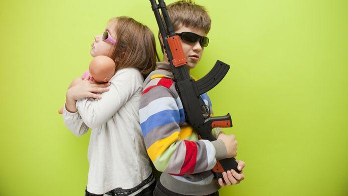 De stereotiepe scheiding tussen meisjes- en jongensspeelgoed is passé.