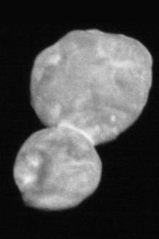 Sonde stuurt eerste beelden van ruimterots Ultima Thule