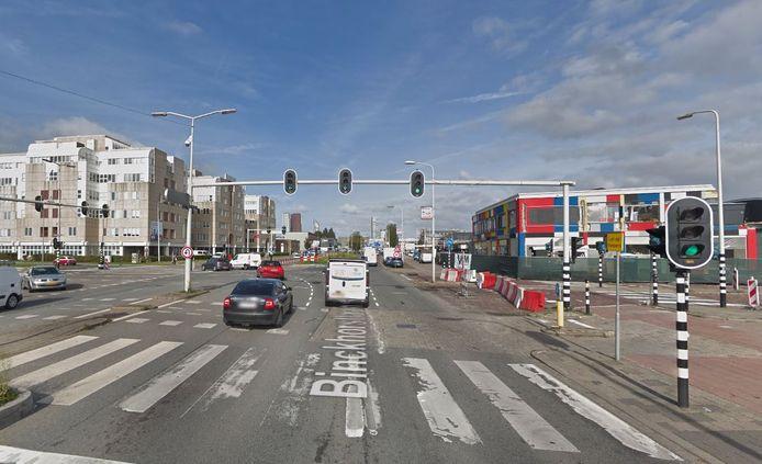 De Binckhorstlaan en de Mercuriusweg.