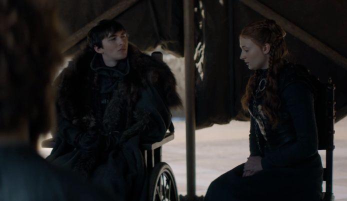Sansa zal niet buigen.
