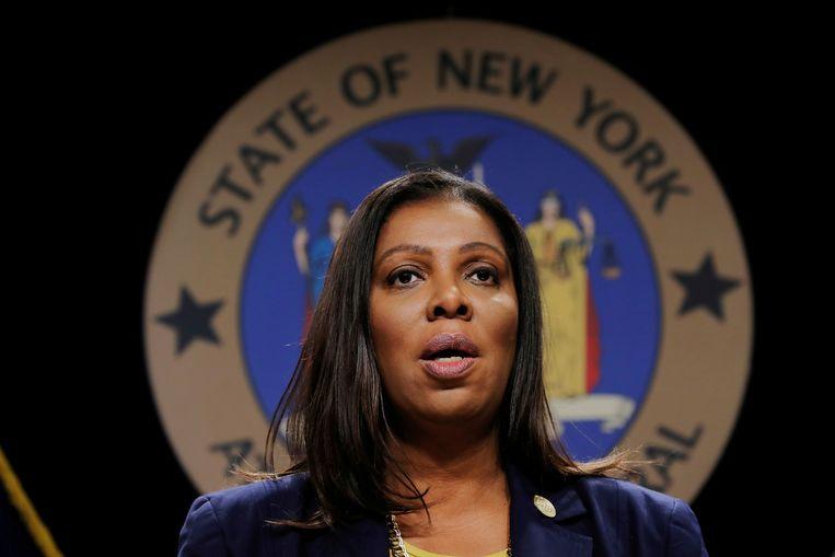 Procureur Letitia James van de staat New York. Beeld REUTERS