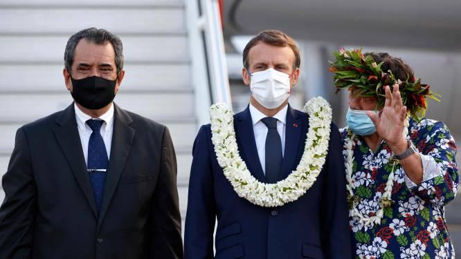 Frans-Polynesiërs verwachten excuses Macron voor kernproeven