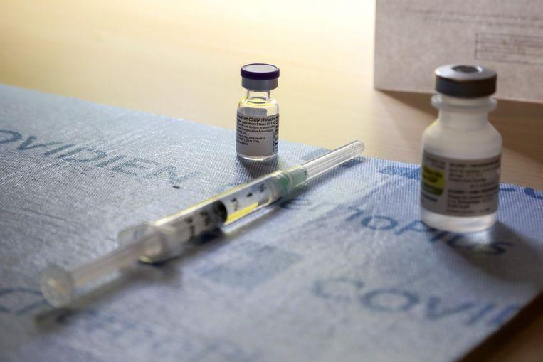 Het vaccin van Pfizer. Beeld AFP