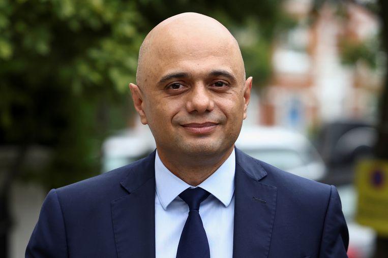 De Britse minister van Volksgezondheid Sajid Javid. Beeld REUTERS
