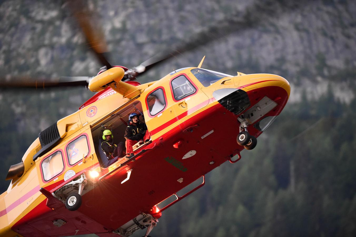 Een Italiaanse traumahelikopter (archieffoto).