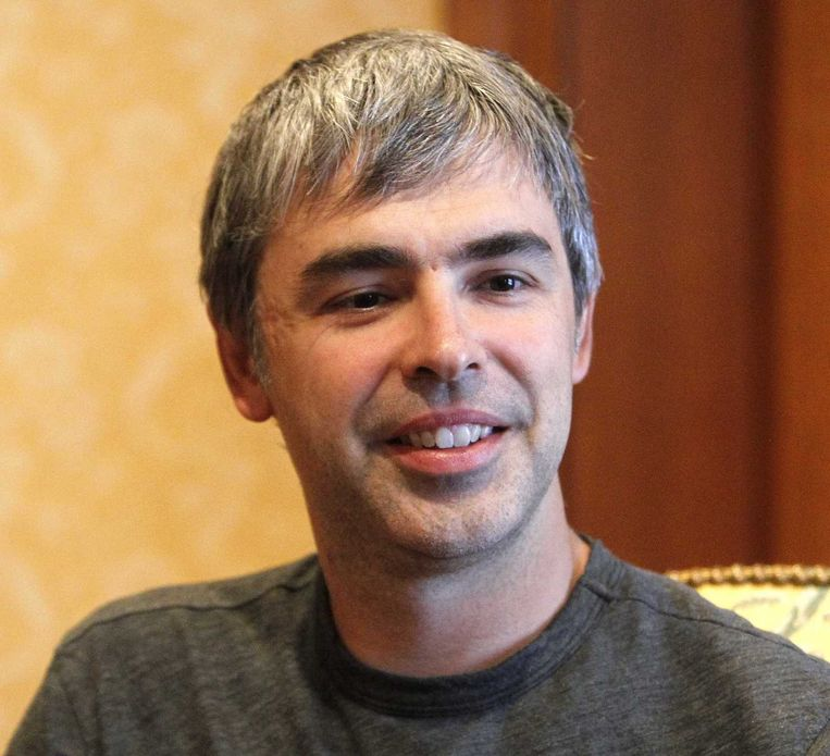 Larry Page. Beeld Reuters