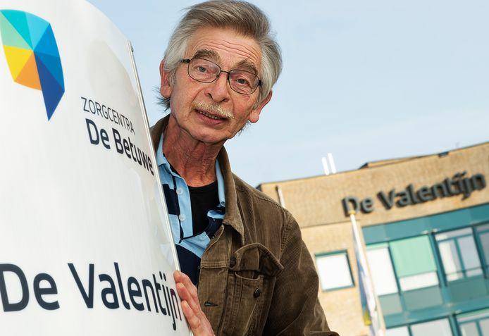 Vrijwilliger Hans Smit uit Maurik.