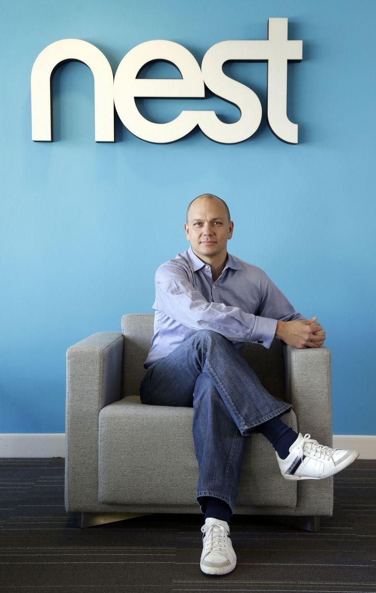 Nest-CEO Tony Fadell. Beeld AP