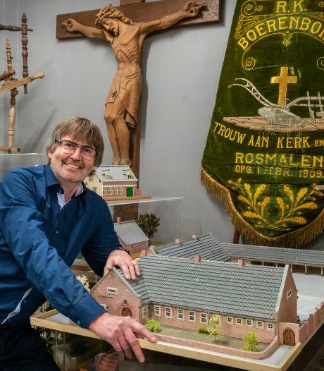 Maquettes, ploegen en schilderijen. Heemkundekring Rosmalen wil  historie permanent exposeren