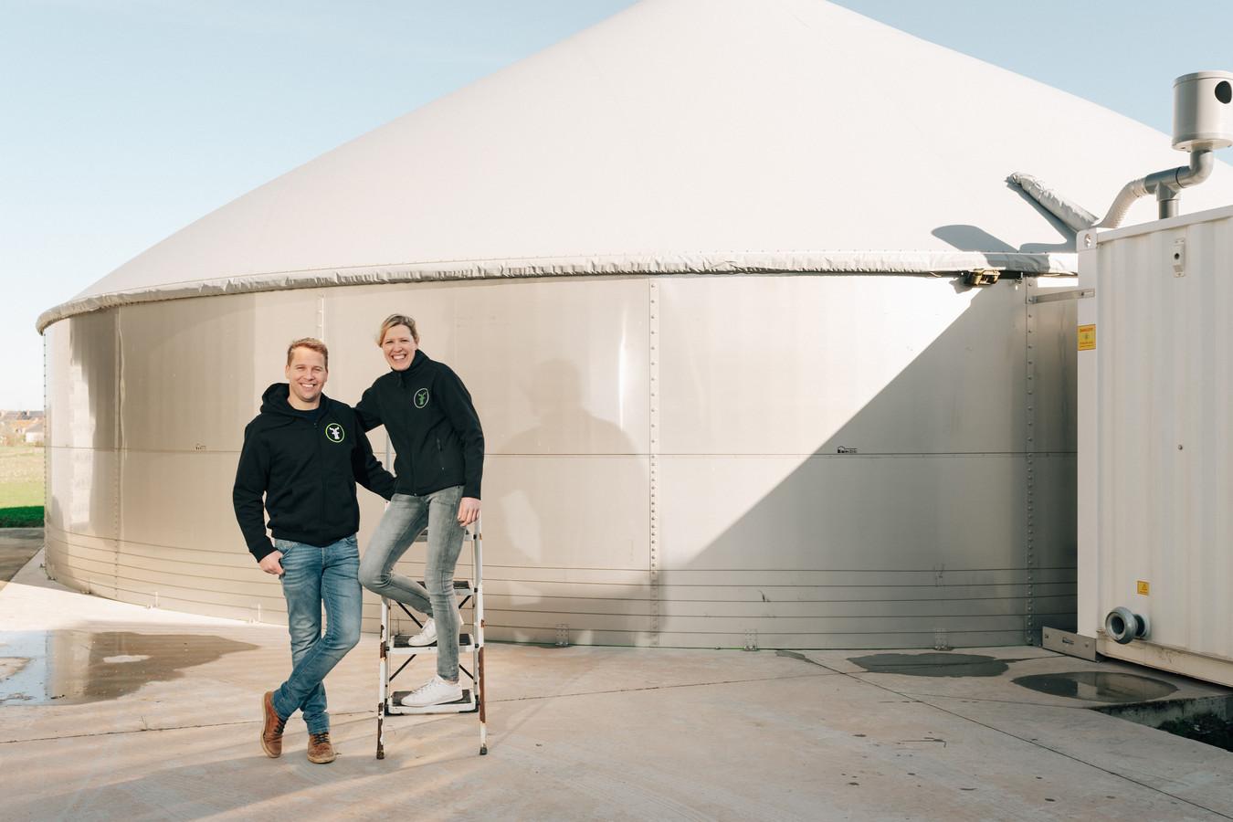Marijke d'Hertefelt (34) en Bart Vanderstraeten (40)