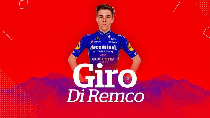 Beleef de Ronde van Italië dagelijks met ons mee in 'Giro di Remco'.