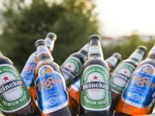 Etiket bierfles waarschuwt drinker straks voor bierbuik
