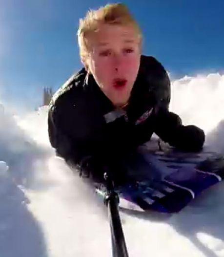 Le Snowlercoaster, ce nouveau sport de glisse aux sensations fortes