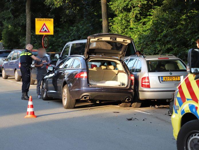 Het ongeval in augustus dit jaar op de Erasmusweg. Foto Regio15
