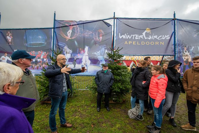 Wintercircus Apeldoorn keert eind december normaal gesproken weer terug aan De Voorwaarts.