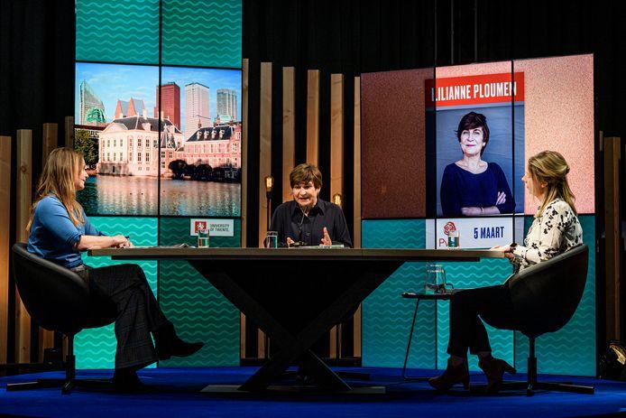Lijstrekkers op bezoek bij Van Torentje naar Torentje: Lilianne Ploumen