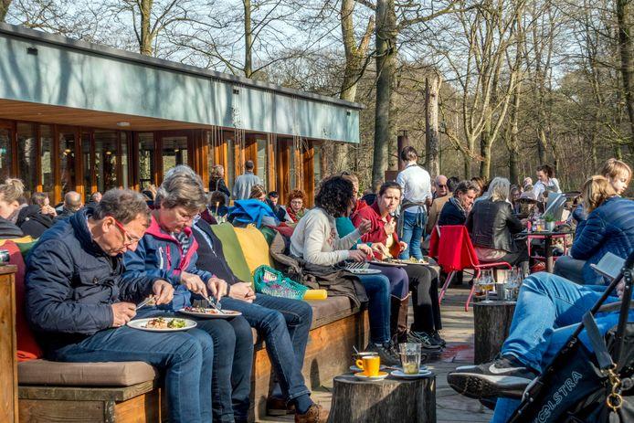 Het terras van Groot Speijck heef dit jaar de Top 100 van Misset Horeca gehaald.