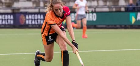 Gelijkspel hockeysters Oranje-Rood in afscheidsduel clubicoon Daphne van der Velden