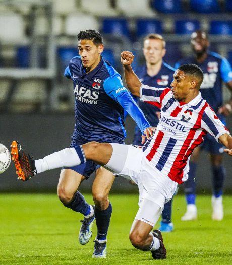 Willem II'er Saddiki niet tevreden over zijn invalbeurt tegen AZ: 'Dat moet beter'