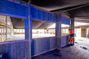 De opbouw van Winterbar 725 is volop aan de gang.