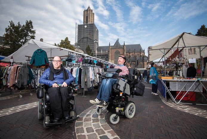 Mensen met een handicap willen meedoen in de samenleving.