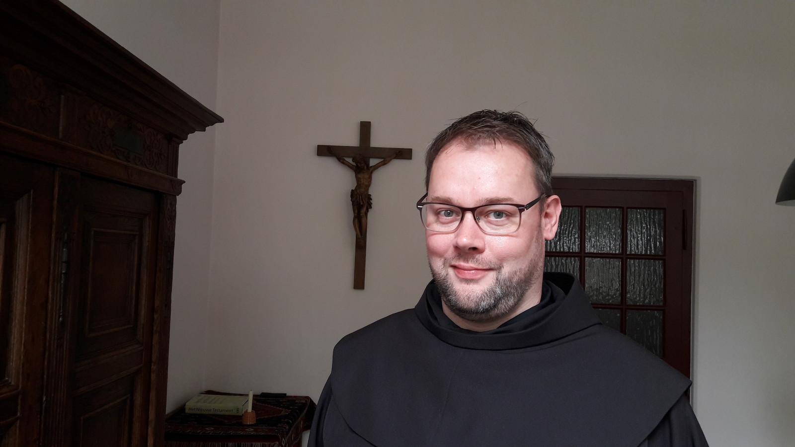 Franciscaan Jan ter Maat : ,,Terwijl er veel afbraak is in de kerk, zijn wij bezig met opbouw. Wij laten zien dat samenwerken mogelijk is. Dat is mooi om mee te maken''