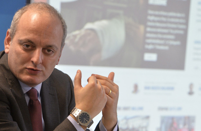Joël Rubinfeld, président de la Ligue Belge contre l'Antisémitisme (archives).