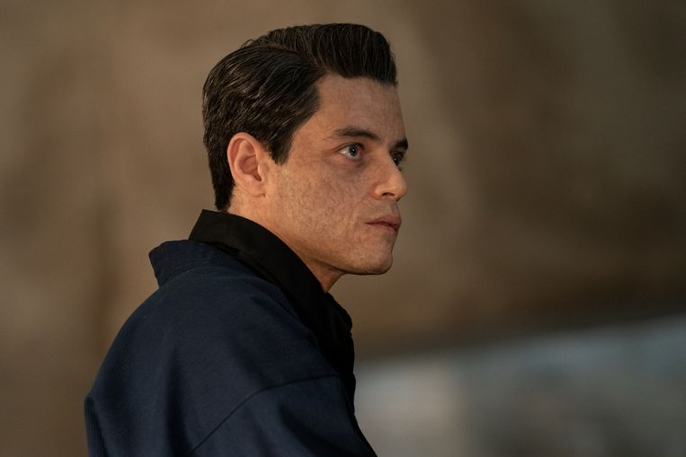 Safin (Rami Malek) in No Time To Die.  Beeld MGM