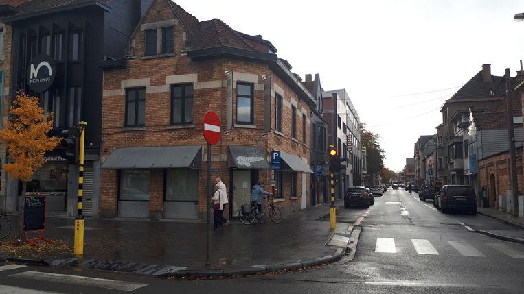 Ook de bakkerij aan het Stationsplein bleef vandaag dicht.