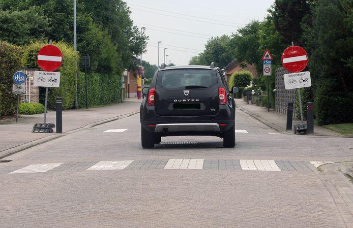De automobilist negeerde een verboden rijrichting (foto ter illustratie).