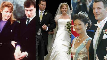 Kleinzoon van Britse Queen is niet alleen: koninklijke scheidingen geen taboe meer